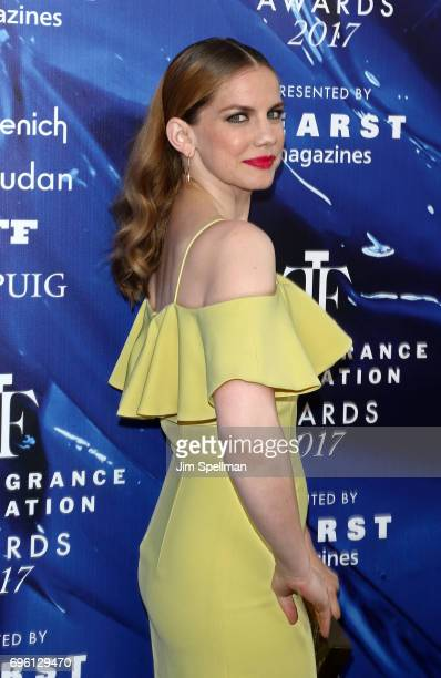 Actress Anna Chlumsky attends the 2017 Fragrance Foundation Awards at Alice Tully Hall Lincoln Center on June 14 2017 in New York City
