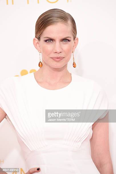 Actress Anna Chlumsky attends the 66th Annual Primetime Emmy Awards held at Nokia Theatre L.A. Live on August 25, 2014 in Los Angeles, California.