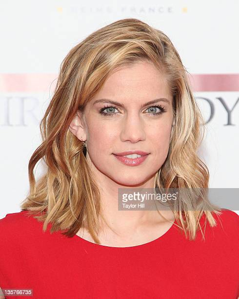 Actress Anna Chlumsky attends the 'The Iron Lady' New York premiere at the Ziegfeld Theater on December 13 2011 in New York City