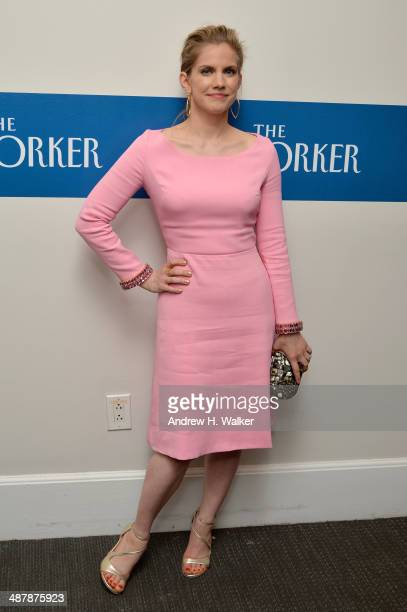 Actress Anna Chlumsky attends the White House Correspondents' Dinner Weekend PreParty hosted by The New Yorker's David Remnick at the W Hotel...