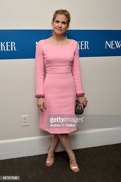 Actress Anna Chlumsky attends the White House Correspondents' Dinner Weekend Pre-Party hosted by The New Yorker's David Remnick at the W Hotel...