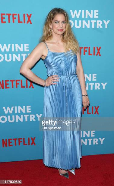 "Actress Anna Chlumsky attends the ""Wine Country"" world premiere at Paris Theatre on May 08, 2019 in New York City."