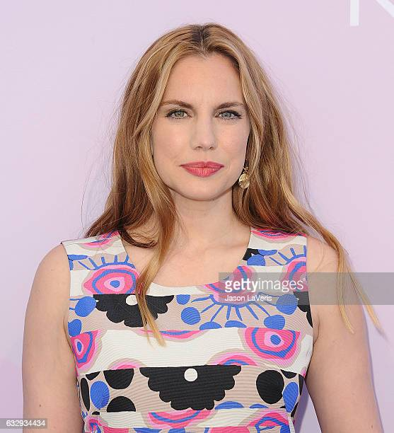 Actress Anna Chlumsky attends Variety's celebratory brunch event for awards nominees benefitting Motion Picture Television Fund at Cecconi's on...