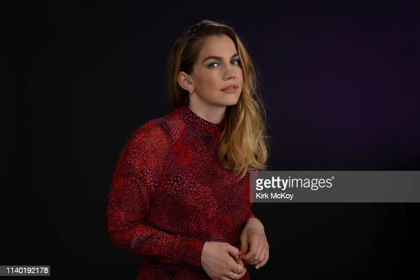 Actress Anna Chlumsky is photographed for Los Angeles Times on April 10, 2019 in El Segundo, California. PUBLISHED IMAGE. CREDIT MUST READ: Kirk...