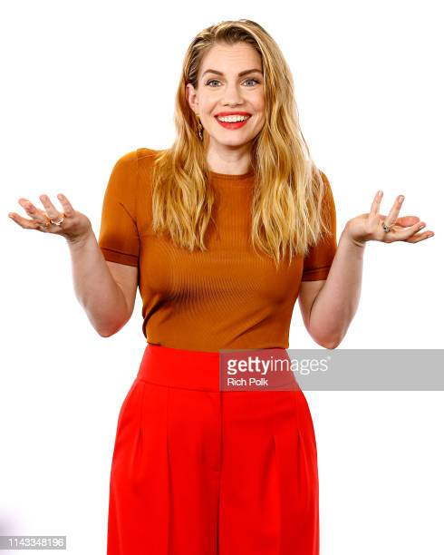 Actress Anna Chlumsky visits 'The IMDb Show' on April 8, 2019 in Studio City, California. This episode of 'The IMDb Show' airs on April 22, 2019.