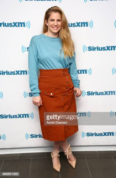 Actress Anna Chlumsky visits the SiriusXM Studios on April 10 2017 in New York City