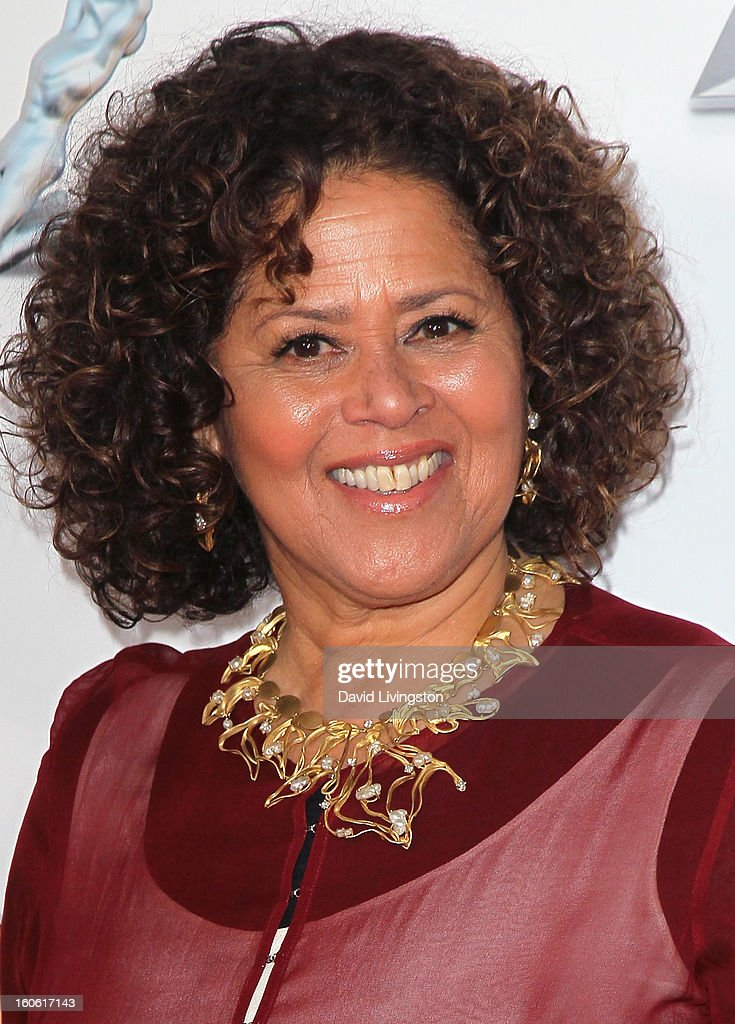 Actress Anna Deavere Smith attends the 44th NAACP Image Awards at the Shrine Auditorium on February 1, 2013 in Los Angeles, California.