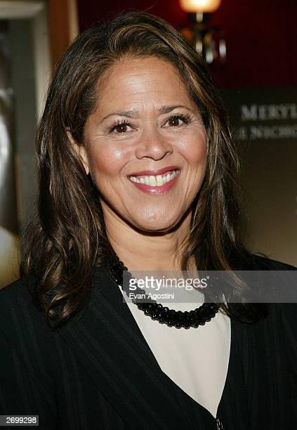 Actress Anna Deavere Smith attends the HBO FILMS Premiere of Angels In America at The Ziegfeld Theater November 04 2003 in New York City