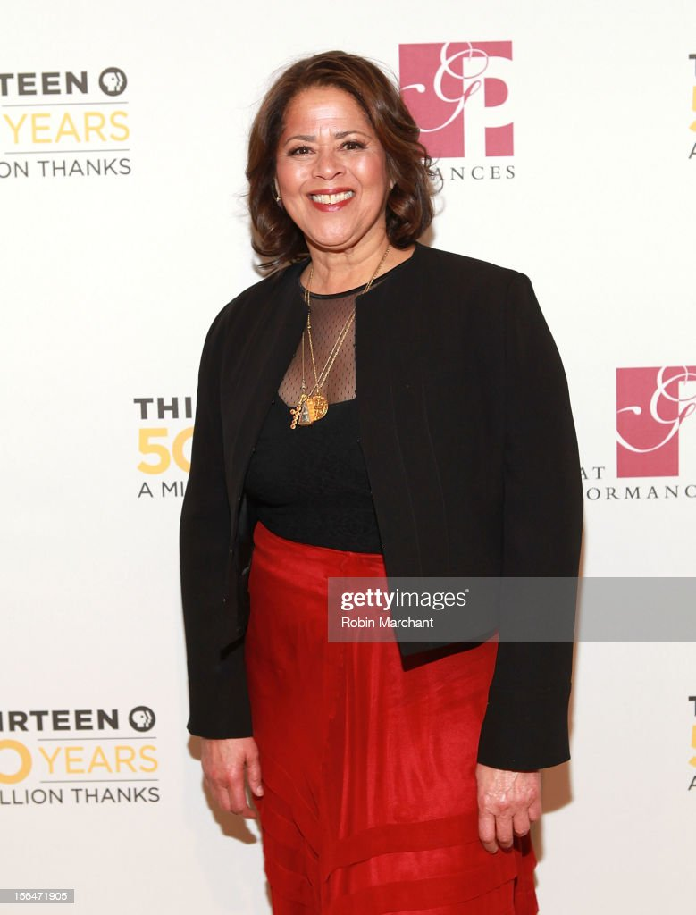 Actress Anna Deavere Smith attends the THIRTEEN 50th Anniversary Gala Salute at David Koch Theatre at Lincoln Center on November 15, 2012 in New York City.