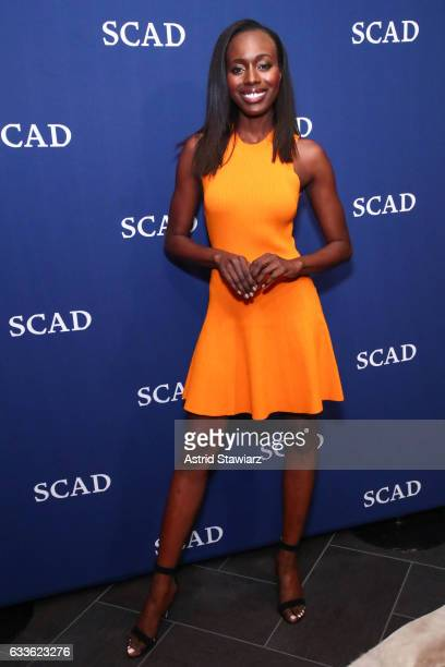 "Actress Anna Diop attends Cast Award Photo Opp Backstage for ""24 Legacy"" during Day One of the aTVfest 2017 presented by SCAD on February 2 2017 in..."
