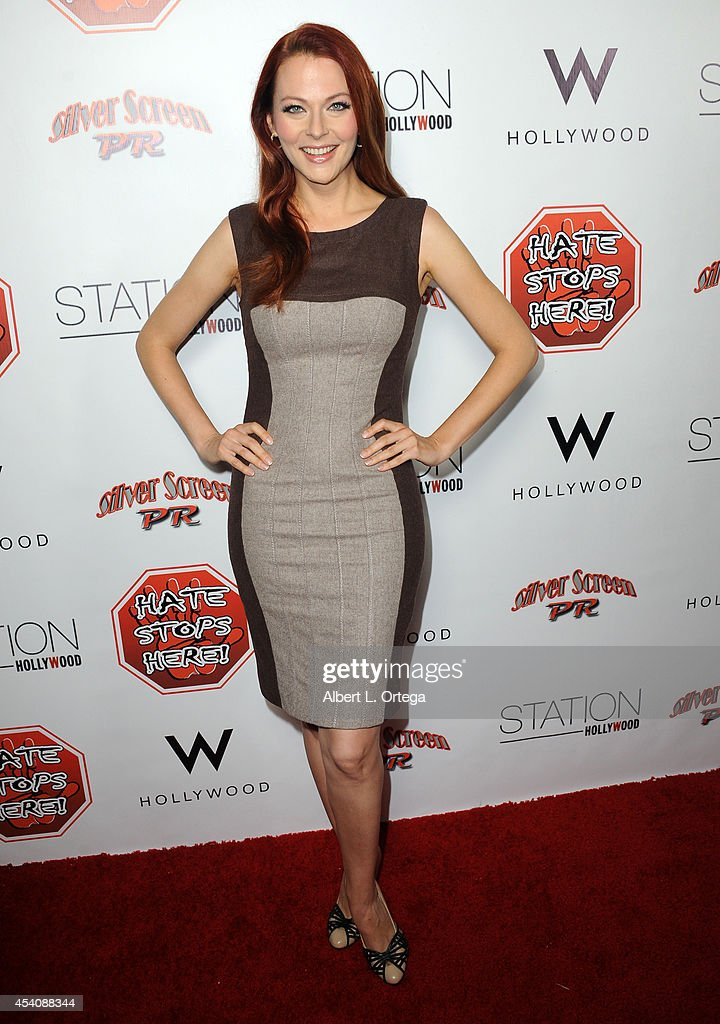 Actress Anna Easteden arrives at W Hotel Station Club's Annual Emmy Party held at W Hollywood on August 23, 2014 in Hollywood, California.