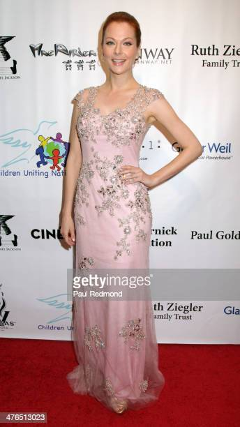 Actress Anna Easteden attending the 15th Annual Academy Awards Viewing Party Benefiting Children Uniting Nations at Warner Bros Estate on March 2...
