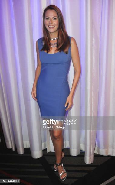 """Actress Anna Easteden attends The World Networks Presentation of """"A Private Intimate Event"""" held at Allure Events And Catering on June 26, 2017 in..."""