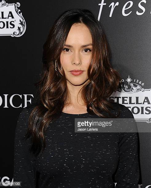 Actress Anna Enger attends the premiere of 'The Choice' at ArcLight Cinemas on February 1 2016 in Hollywood California