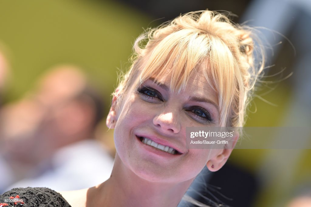 Actress Anna Faris arrives at the premiere of 'The Emoji Movie' at Regency Village Theatre on July 23, 2017 in Westwood, California.