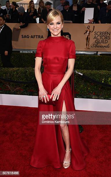 Actress Anna Faris attends The 22nd Annual Screen Actors Guild Awards at The Shrine Auditorium on January 30 2016 in Los Angeles California 25650_013