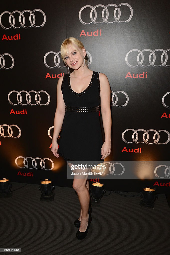Actress Anna Faris attends the Audi Forum New Orleans at the Ogden Museum of Southern Art on February 1, 2013 in New Orleans, Louisiana.