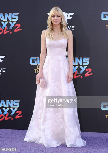 Actress Anna Faris attends the premiere of Guardians of the Galaxy Vol 2 at Dolby Theatre on April 19 2017 in Hollywood California