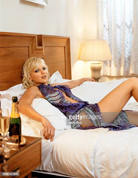 Actress Anna Faris is photographed for Red Magazine UK in 2004 in Los Angeles California PUBLISHED IMAGE
