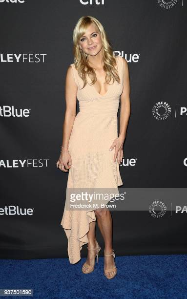 Actress Anna Faris of the CBS television show 'Mom' attends The Paley Center for Media's 35th Annual PaleyFest Los Angeles at the Dolby Theatre on...