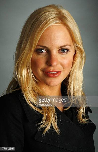 Actress Anna Faris of the film 'Smiley Face' poses in the portrait studio during AFI FEST 2007 presented by Audi held at ArcLight Cinemas on November...