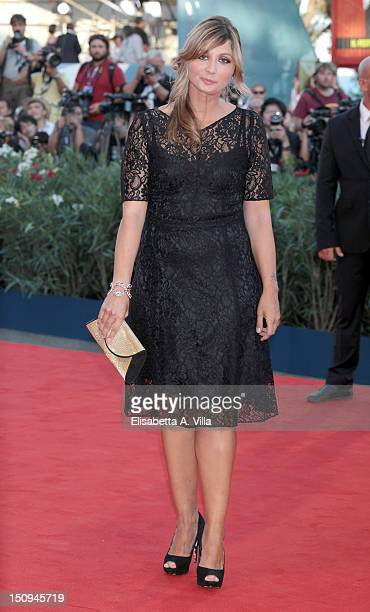 Actress Anna Ferzetti attends The Reluctant Fundamentalist Premiere and Opening Ceremony of the 69th Venice International Film Festival at Palazzo...
