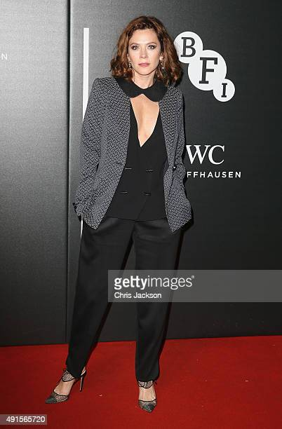 Actress Anna Friel attends the BFI Luminous Funraising Gala at The Guildhall on October 6 2015 in London England