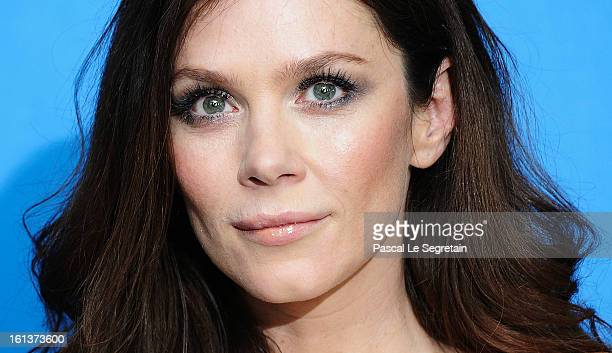 Actress Anna Friel attends 'The Look Of Love' Photocall during the 63rd Berlinale International Film Festival at Grand Hyatt Hotel on February 10...