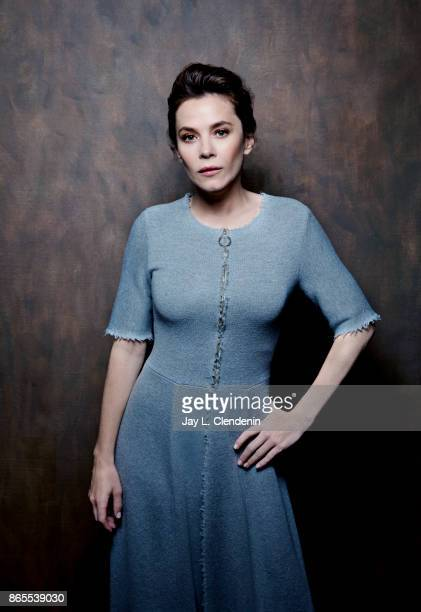 Actress Anna Friel from the series 'The Girlfriend Experience' poses for a portrait at the 2017 Toronto International Film Festival for Los Angeles...