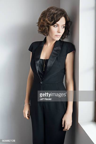 Actress Anna Friel is photographed for TV Guide Magazine on January 16 2015 in Pasadena California