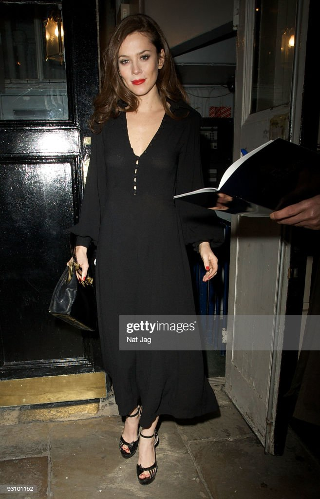 Celebrity Sightings In London - November 16, 2009