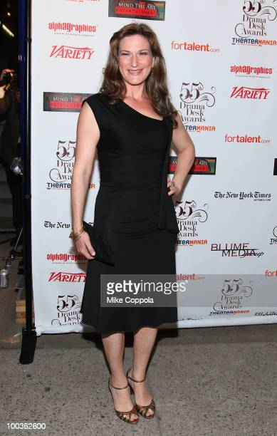 Actress Anna Gasteyer arrives at the 55th Annual Drama Desk Awards at the FH LaGuardia Concert Hall at Lincoln Center on May 23 2010 in New York City