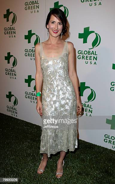 Actress Anna Getty attends Global Green USA's 5th Annual Pre Oscar Party at Avalon Hollywood on February 20 2008 in Los Angeles California