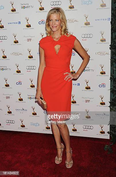 Actress Anna Gunn arrives at the 65th Emmy Awards Performers Nominee Reception at Spectra by Wolfgang Puck at the Pacific Design Center on September...
