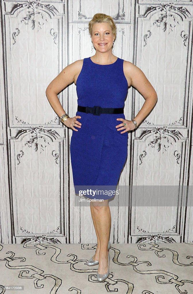 Actress Anna Gunn attends AOL Build Presents Meera Menon, Anna Gunn, Sarah Megan Thomas, Alysia Reiner and Amy Fox, 'Equity' at AOL HQ on July 28, 2016 in New York City.