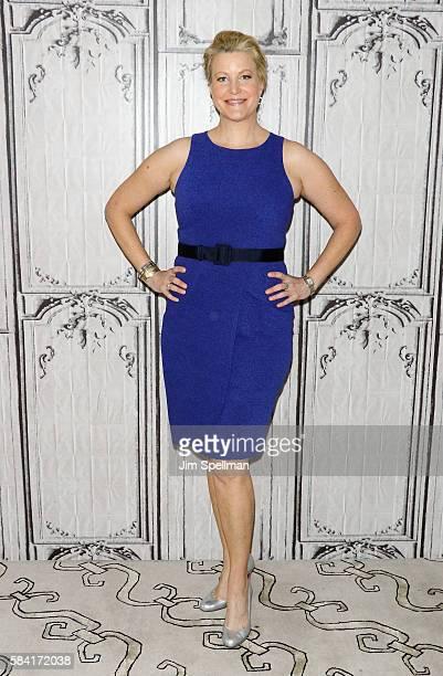 Actress Anna Gunn attends AOL Build Presents Meera Menon Anna Gunn Sarah Megan Thomas Alysia Reiner and Amy Fox 'Equity' at AOL HQ on July 28 2016 in...