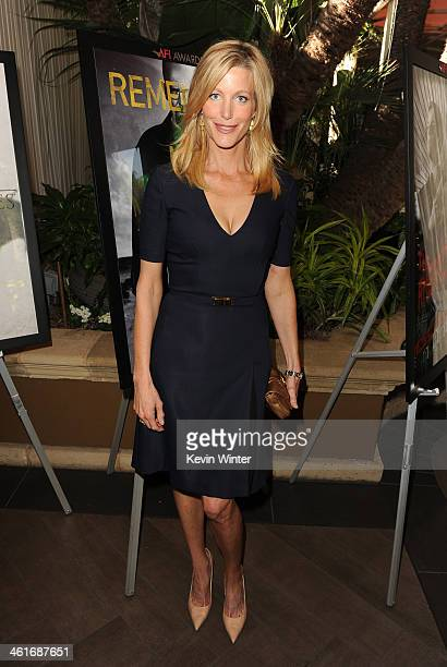 Actress Anna Gunn attends the 14th annual AFI Awards Luncheon at the Four Seasons Hotel Beverly Hills on January 10 2014 in Beverly Hills California