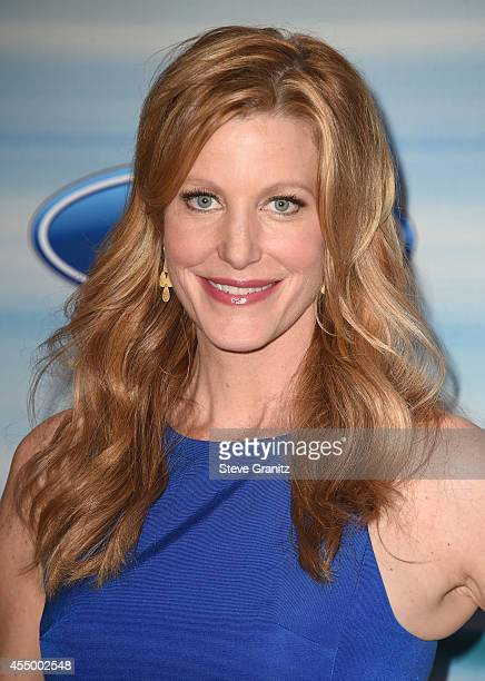 Actress Anna Gunn attends the 2014 FOX Fall Eco-Casino party at The Bungalow on September 8, 2014 in Santa Monica, California.
