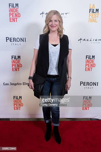 Actress Anna Gunn attends the 2016 Los Angeles Film Festival 'Equity' premiere at Arclight Cinemas Culver City on June 8 2016 in Culver City...