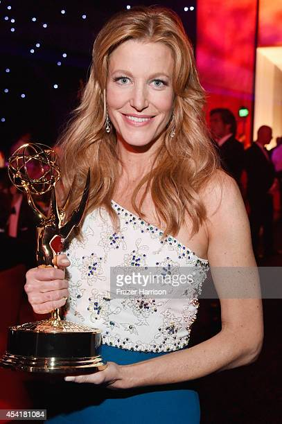Actress Anna Gunn attends the 66th Annual Primetime Emmy Awards Governors Ball held at Los Angeles Convention Center on August 25 2014 in Los Angeles...