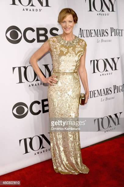 Actress Anna Gunn attends the 68th Annual Tony Awards at Radio City Music Hall on June 8 2014 in New York City
