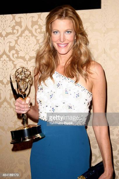 Actress Anna Gunn attends the AMC IFC And Sundance Channel's Primetime Emmy Awards Party 2014 held at BOA Steakhouse on August 25 2014 in West...