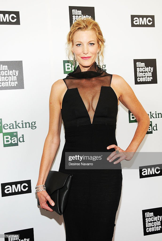 Actress Anna Gunn attends The Film Society Of Lincoln Center And AMC Celebration Of 'Breaking Bad' Final Episodes at The Film Society of Lincoln Center, Walter Reade Theatre on July 31, 2013 in New York City.