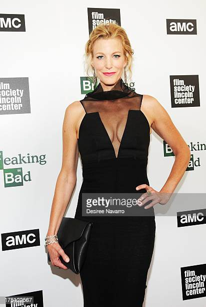 Actress Anna Gunn attends The Film Society Of Lincoln Center And AMC Celebration Of Breaking Bad Final Episodes at The Film Society of Lincoln Center...