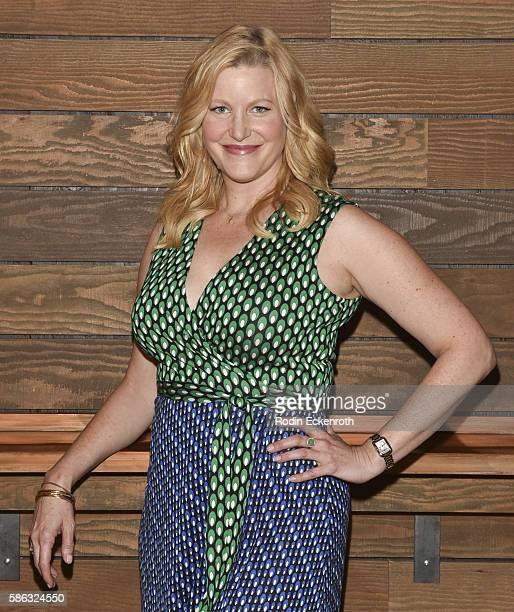 Actress Anna Gunn attends the QA of 'Equity' at Sundance Cinema on August 5 2016 in Los Angeles California