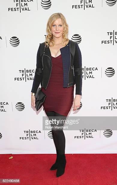 Actress Anna Gunn attends Tribeca Talks After The Movie Equity at SVA Theatre 2 on April 19 2016 in New York City