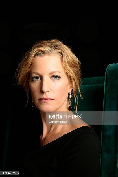 Actress Anna Gunn is photographed for Los Angeles Times on August 1 2013 in New York City PUBLISHED IMAGE CREDIT MUST BE Carolyn Cole/Los Angeles...