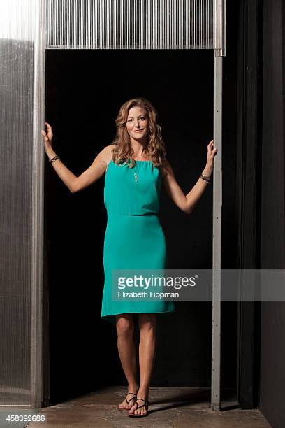 Actress Anna Gunn is photographed for Wall Street Journal on July 18, 2014 in New York City.