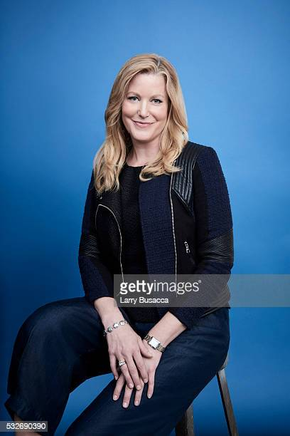 Actress Anna Gunn poses for a portrait at the Tribeca Film Festival on April 18, 2016 in New York City.