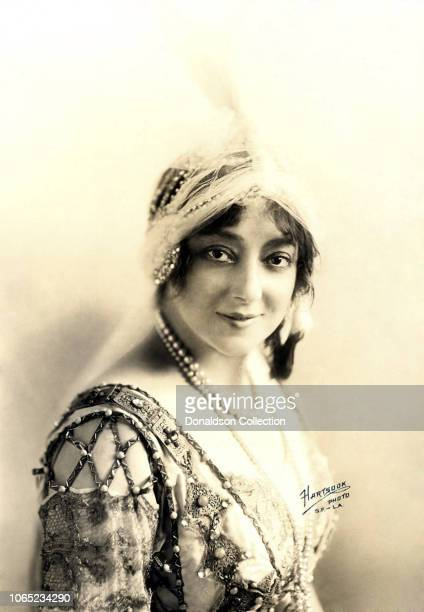 Actress Anna Held poses for a portrait